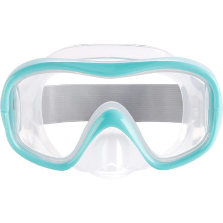 FRD100 freediving mask for children turquoise