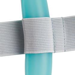 浮潛面鏡SNK 500-淺碧藍色