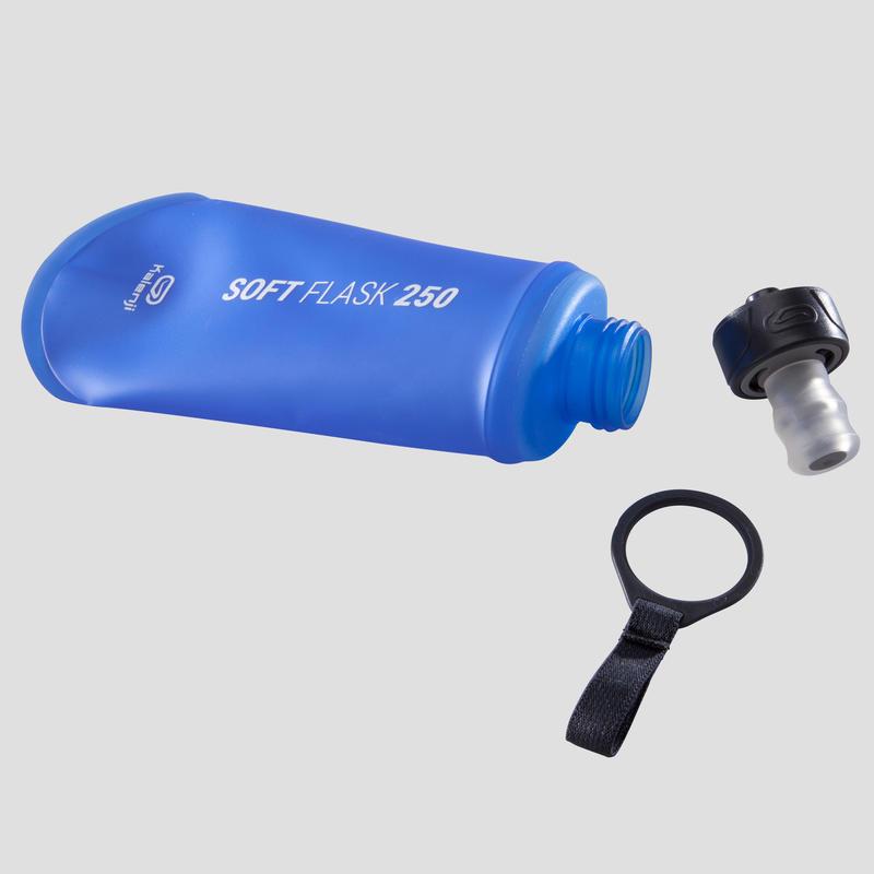 RUNNING FLEXIBLE BOTTLE 250 ML - BLUE