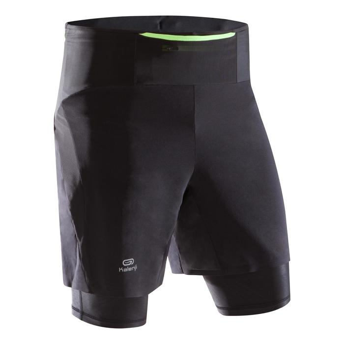 Baggy cuissard compression trail running homme - 1286346