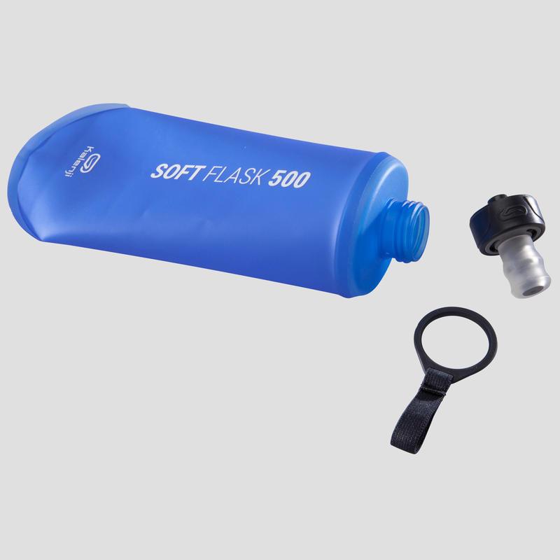 ขวดน้ำแบบนิ่มสำหรับการวิ่งขนาด 500 มล. รุ่น SA2020 (สีน้ำเงิน)