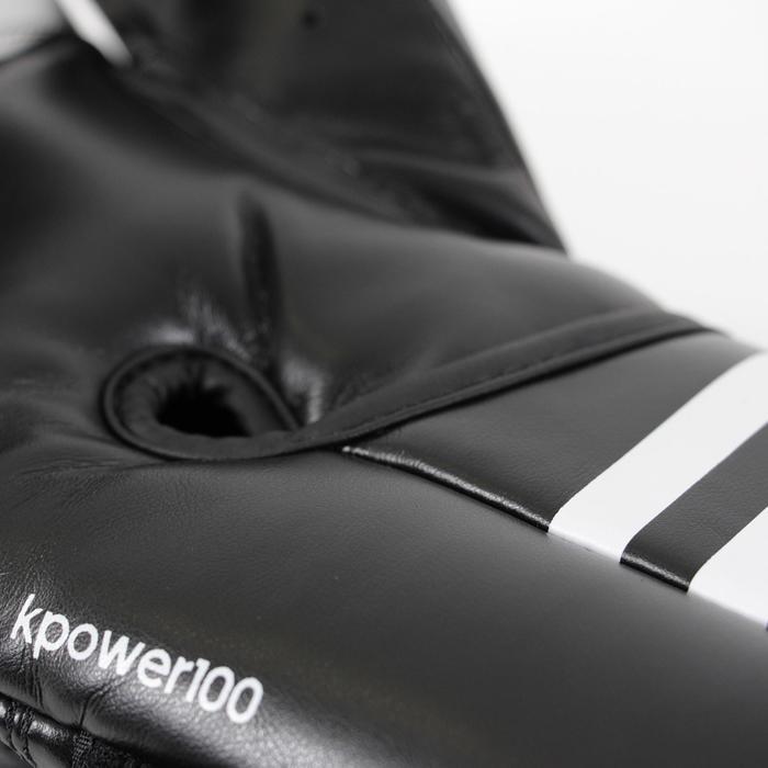Gants de boxe KPOWER 100 confirmé noir - 1286361