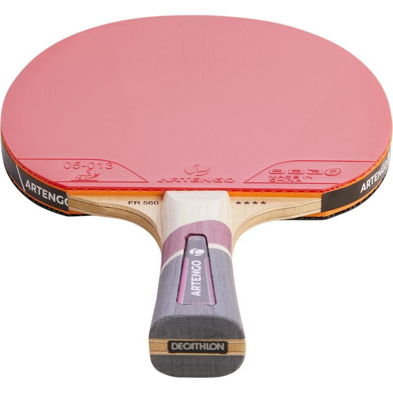 Raquette De Ping Pong Et Housse Ttr 560 Housse Artengo