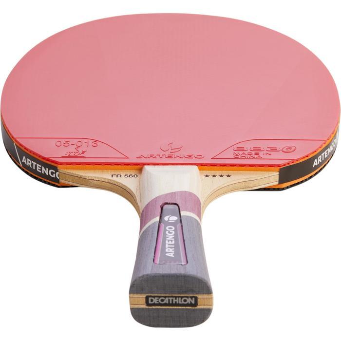 Tischtennisschlägerset FR 560 4* 2 Schläger + Hülle