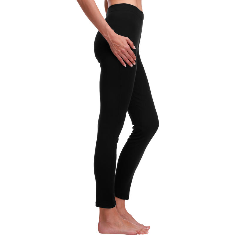 Women's Ski Base Layer Bottoms BL 100 - Black