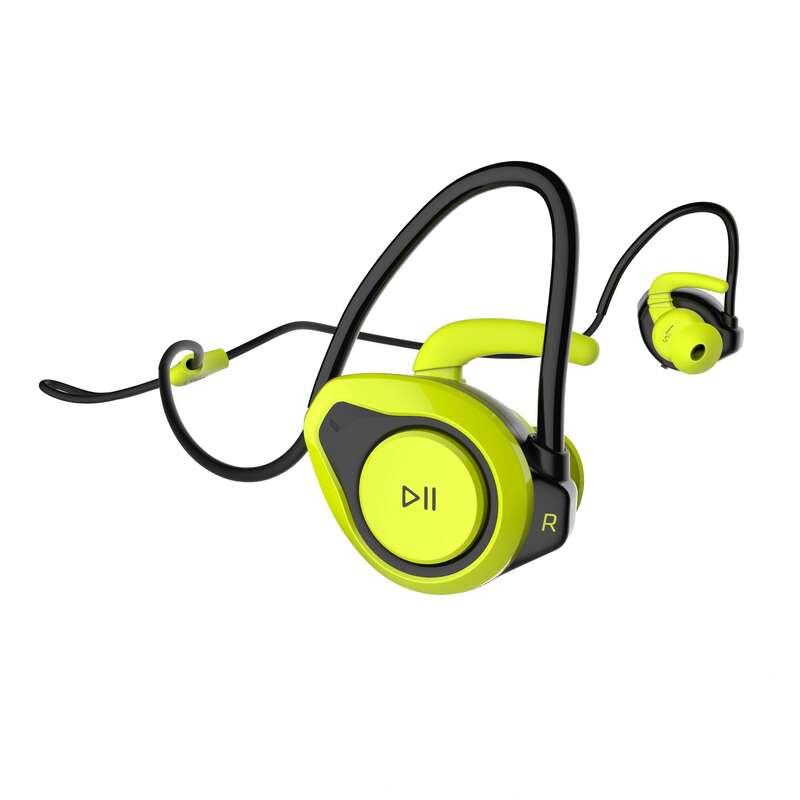 EARPHONES & MP3 Running - ONear 500 Earphones - Yellow KALENJI - Running Accessories