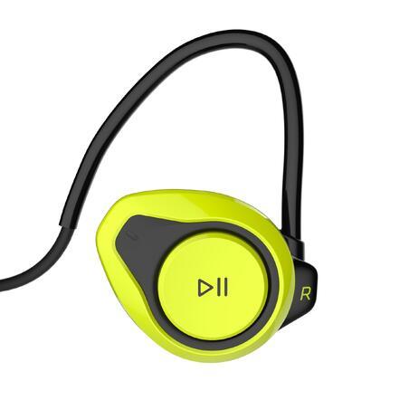 """Belaidės ausinės ONear 500, veikiančios per """"Bluetooth"""" - geltonos"""