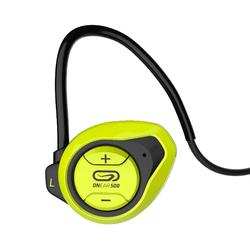 Kopfhörer kabellos Laufen ONear 500 Bluetooth gelb