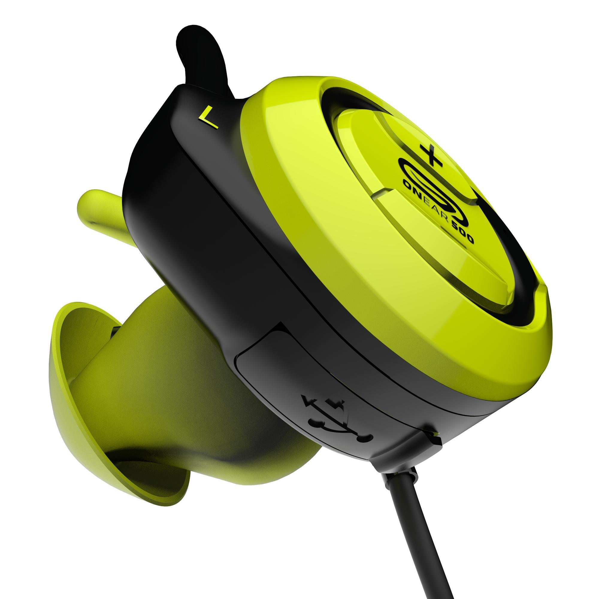 ONear 500 wireless Bluetooth earphones - Yellow