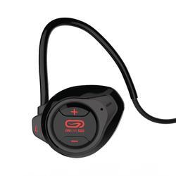 Auriculares Inalámbricos Bluetooth Running Kalenji Onear 500 Negro/Rojo