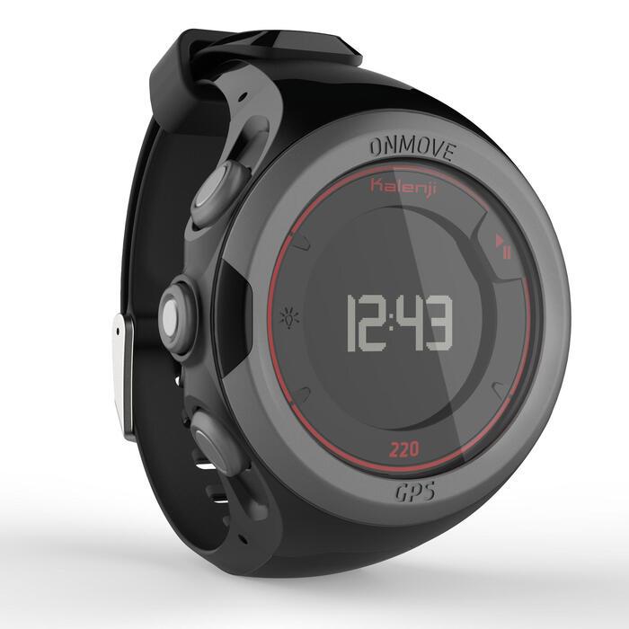 Montre GPS de running ONMOVE 220 NOIRE ET - 1286518
