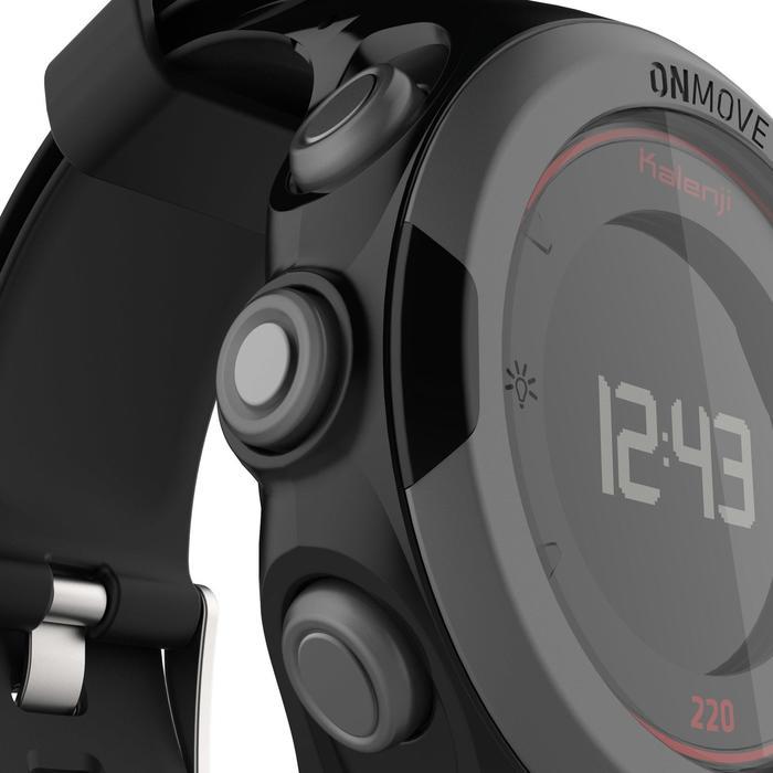 Montre GPS de running ONMOVE 220 NOIRE ET - 1286519