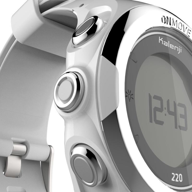ONMOVE 220 GPS running watch - WHITE