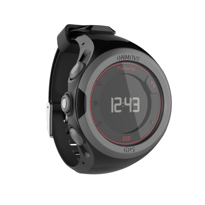 Montre GPS de running ONMOVE 220 NOIRE ET - 1286522