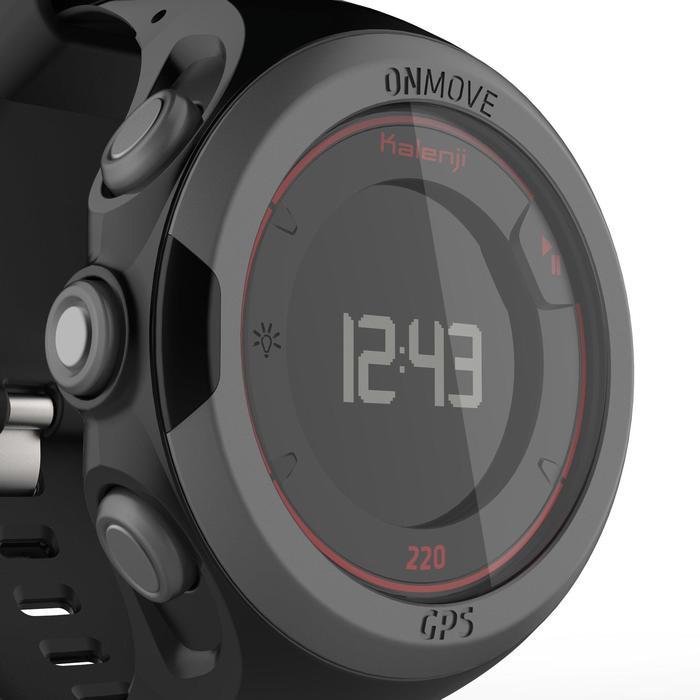 GPS-Pulsuhr ONmove 220 schwarz/rot