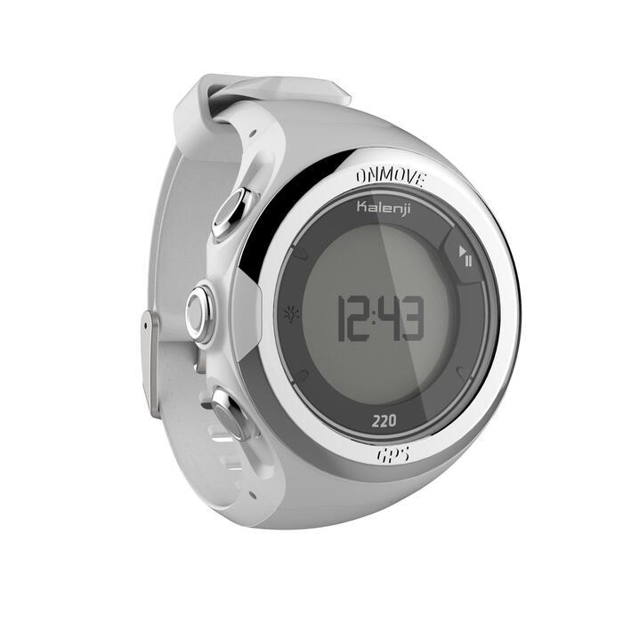 Montre GPS de running ONMOVE 220 NOIRE ET - 1286525