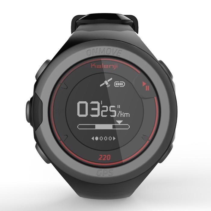 Montre GPS de running ONMOVE 220 NOIRE ET - 1286526