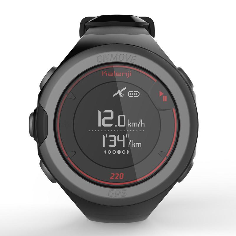 Đồng hồ ONmove 220 GPS - Đen/ Đỏ