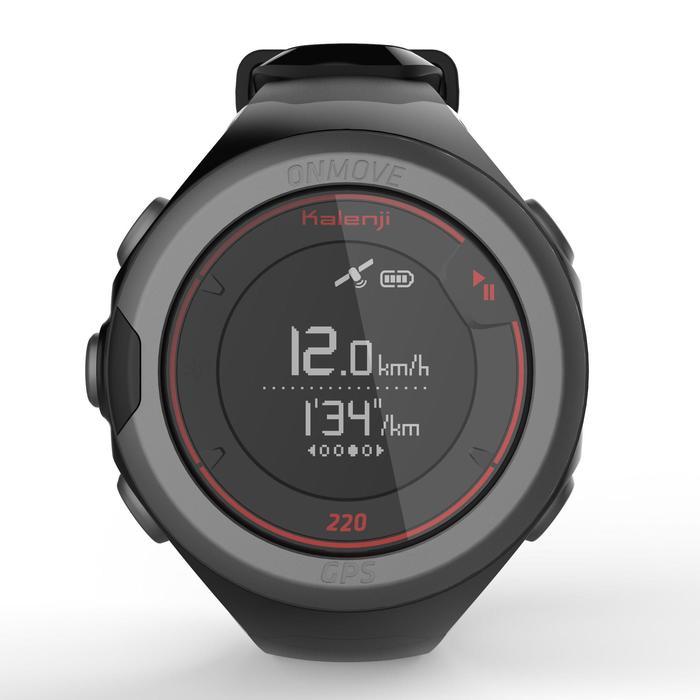 Montre GPS de running ONMOVE 220 NOIRE ET - 1286528