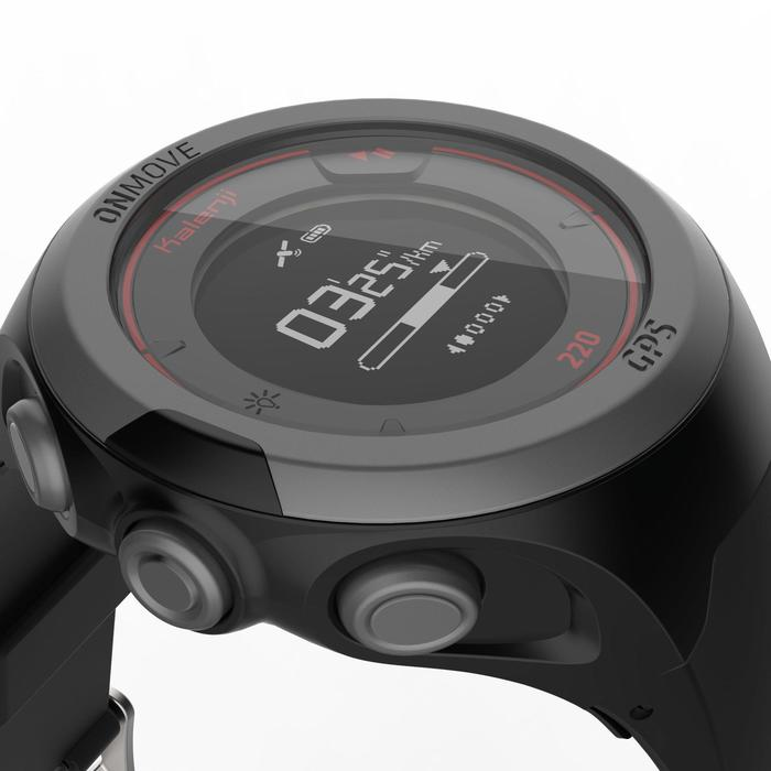 Montre GPS de running ONMOVE 220 NOIRE ET - 1286533