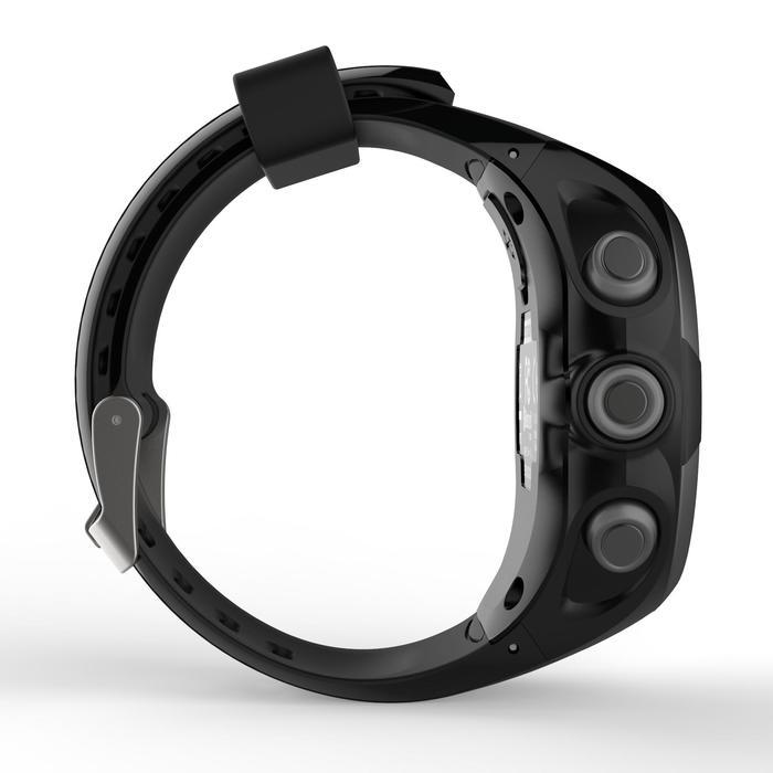GPS-horloge voor hardlopen ONmove 220 zwart/rood
