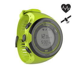 GPS-Pulsuhr Handgelenk ONmove 500 gelb
