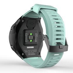 Cinturino orologio GPS ONmove 500 azzurro-verde