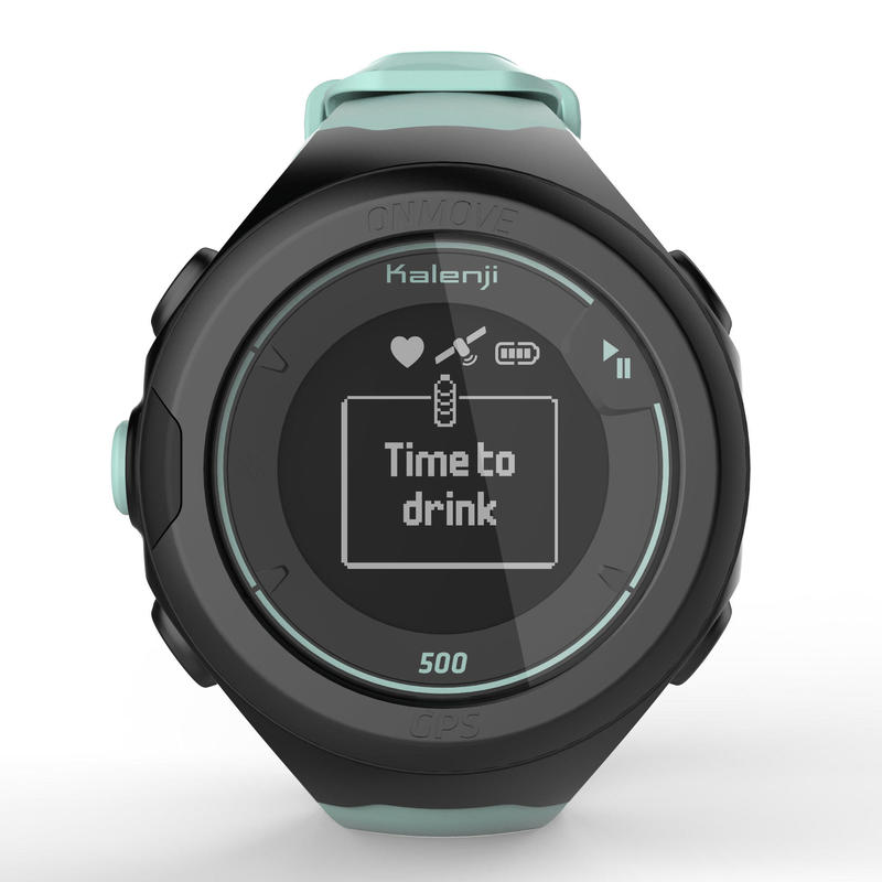 ONmove 500 GPS running watch and wrist heart rate monitor - sea green