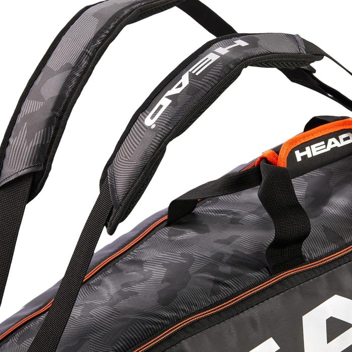 Sporttas voor rackets Head Tour Team Supercombi zwart