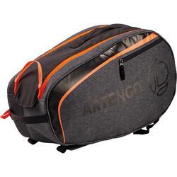 Tennistasche 100 S grau/orange