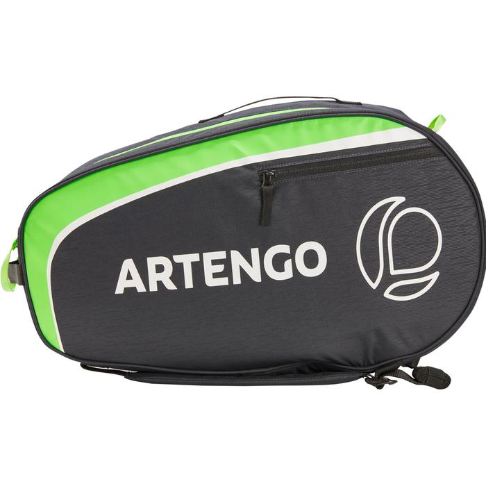 Tennistasche Schlägertasche Artengo SB 130 schwarz/grün