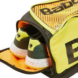 Tennistasche Schlägertasche 2 Schläger schwarz/neongelb