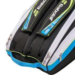Tas voor racketsporten Team blauw/geel 6 rackets
