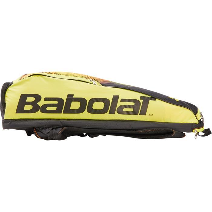 SAC SPORTS DE RAQUETTES BABOLAT BLACK FLUO YELLOW 2R - 1286658