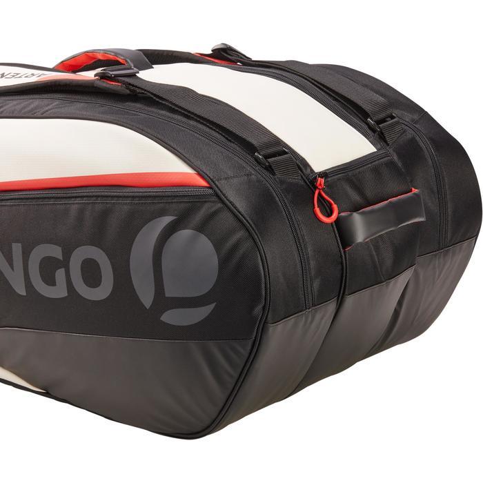 Tas voor racketsporten Artengo LB 960 zwart wit rood