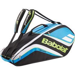 Tennistasche Team für 6-Schläger blau/gelb