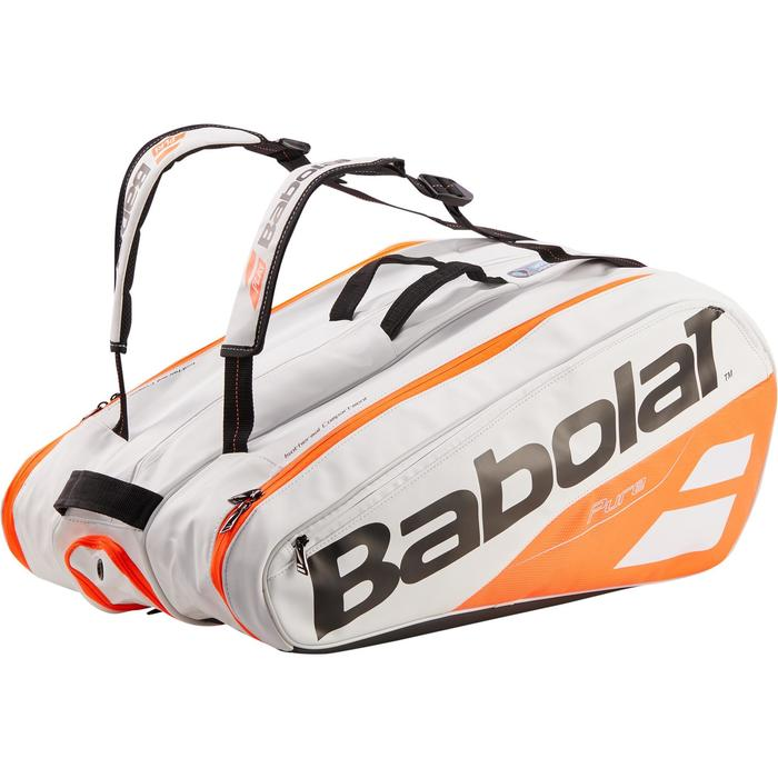 SAC SPORTS DE RAQUETTES  BABOLAT PURE STRIKE BLANC 12R - 1286715