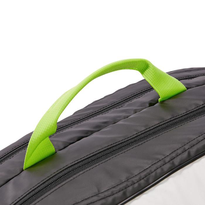 Tennistasche LB 930 schwarz/weiß/gelb