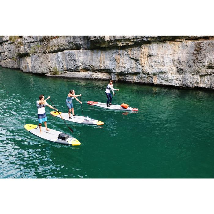"STAND UP PADDLE GONFLABLE RANDONNEE COURSE 500 / 12'6-32"" JAUNE - 1286762"