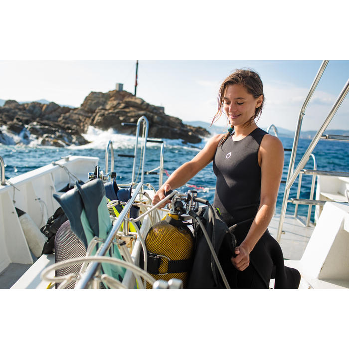 SCD 2.5 mm 氯丁橡膠潛水上衣