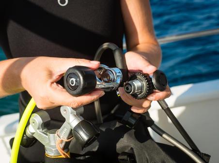 SCD Adaptor for scuba diving regulator DIN/Yoke INT