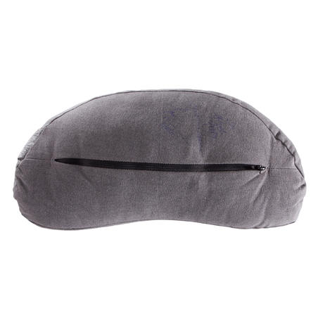 Eco-Designed Yoga & Meditation Zafu Cushion - Mottled Grey