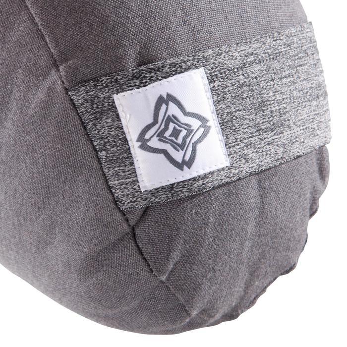 Zafu coussin yoga / méditation gris , coton issu de l'agriculture biologique. - 1286791