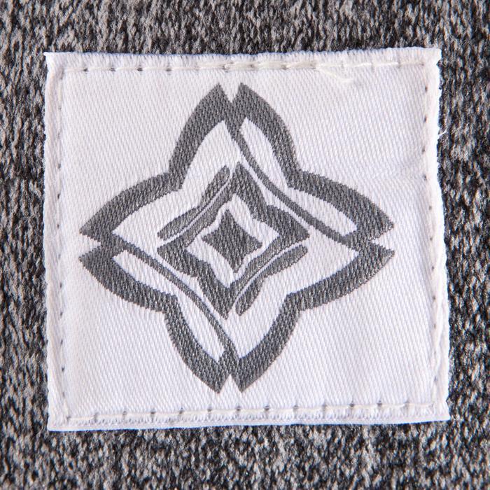 Zafu coussin yoga / méditation gris , coton issu de l'agriculture biologique. - 1286796