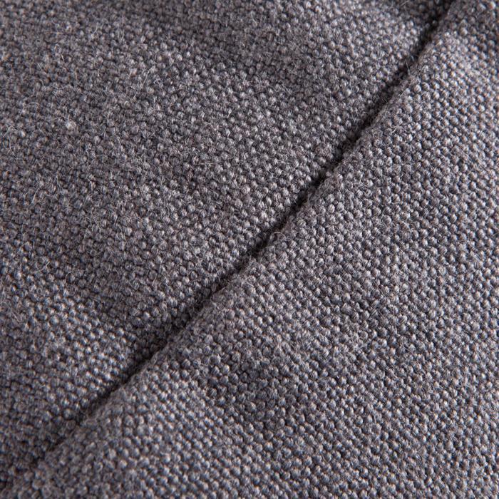 Zafu coussin yoga / méditation gris , coton issu de l'agriculture biologique. - 1286797