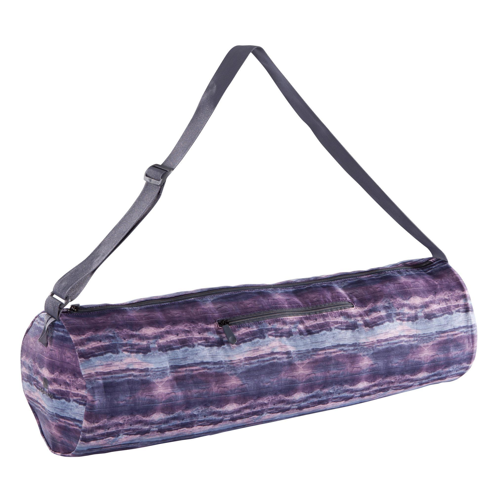 0973f453af69bc ... Gym Bag Decathlon: Yoga Mat Bag - Printed