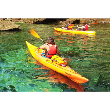 CANOE KAYAK RIGIDE RK500-1 PLACE RANDONNÉE Orange - 1286812