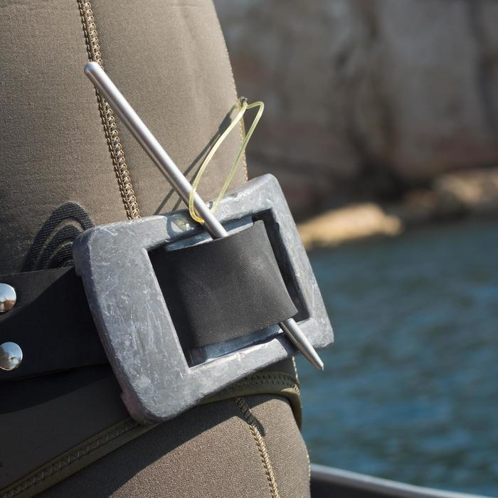 Accroche-poisson fil de chasse sous-marine en inox SPF 100