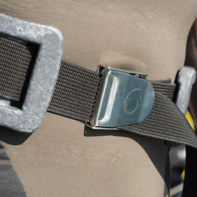 SCD diving belt with stainless-steel buckle