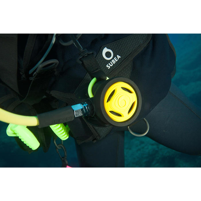 Octopus SCD 500 met klep voor diepzeeduiken